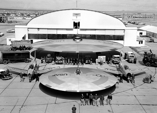 flying saucer display arial