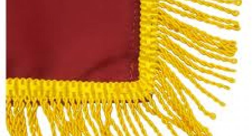 Fringed flag